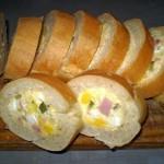 Punjeni francuski hleb