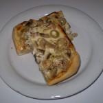 slana pita sa maslinama i šampinjonima