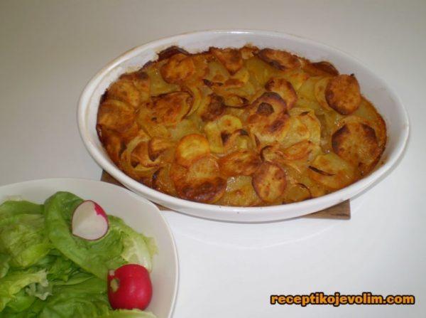 Posna musaka od krompira