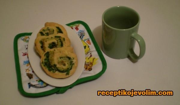Puž sa spanaćem recept