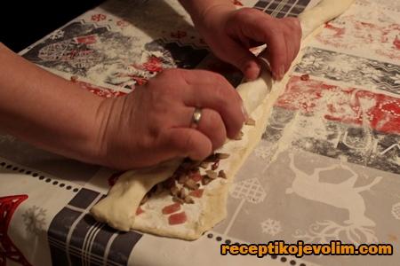 zamotavanje mini pice