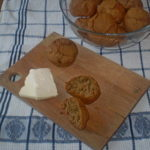 Pogačice od raženog brašna i susama
