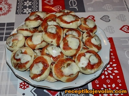 rolovane pice recept